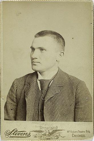 Danny Richardson - Image: Danny Richardson 1888