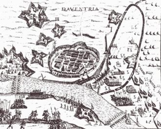 Siege of Deventer (1578) - Image: Daventria