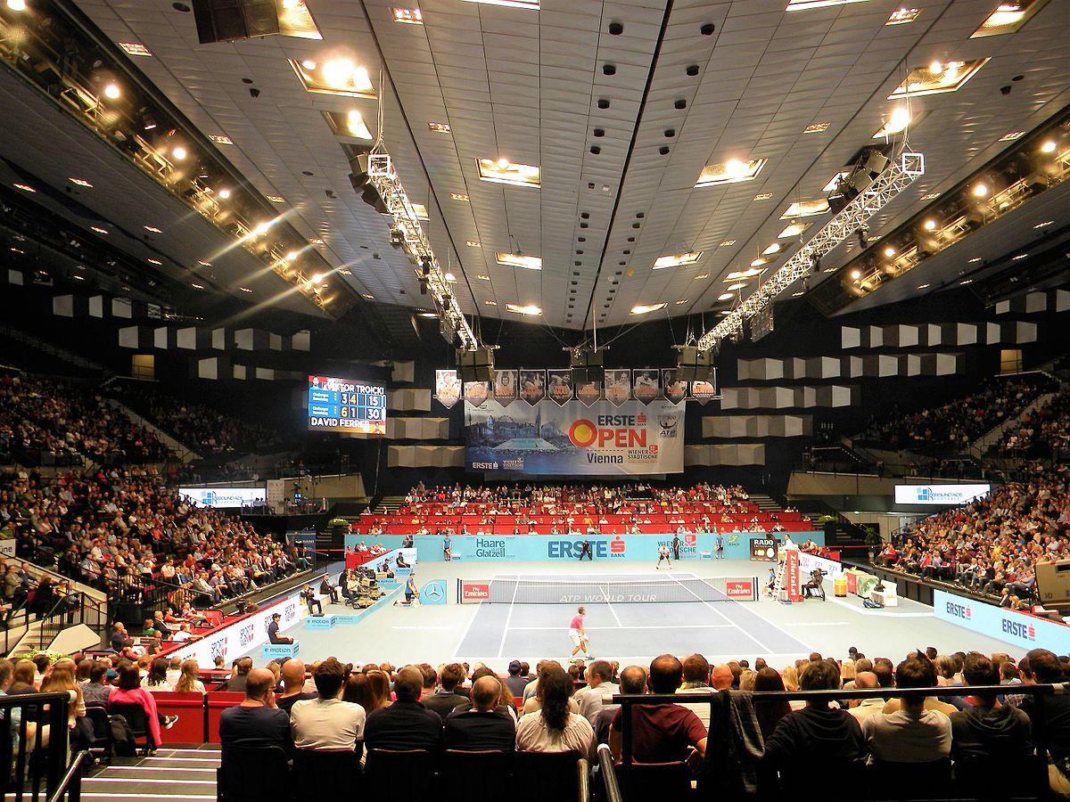 David Ferrer (Spain) against Viktor Troicki (Serbia), 2016 Erste Bank Open.jpg