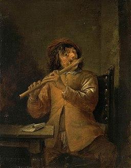 David Teniers (II) - The Flautist - WGA22063