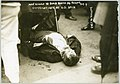 Dead man, killed by bomb at Anarchist riot, Union Square, New York City LCCN2001704495.jpg