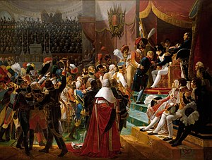 Jean-Baptiste Debret - First remittance of the Légion d'Honneur, 15 July 1804, at Saint-Louis des Invalides, by Jean-Baptiste Debret, 1812.