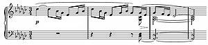 La fille aux cheveux de lin - Image: Debussy Prélude 8