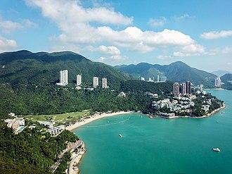 Deep Water Bay - Aerial view of Deep Water Bay