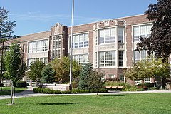 Defer Elementary School, Grosse Pointe Park, Michigan (October 12, 2008).jpg