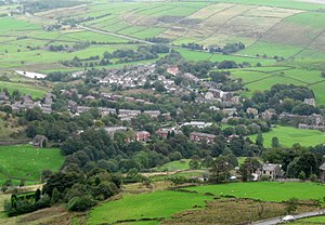 Saddleworth - Image: Delph