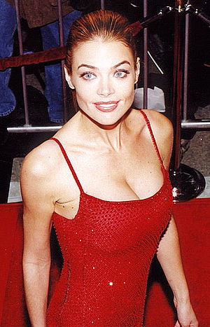 Denise Richards at the movie premiere of The W...