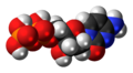 Deoxycytidine diphosphate 3D spacefill.png