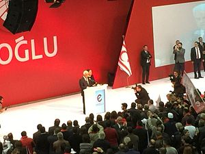 Northern Cyprus presidential election, 2015 - Eroğlu's initial rally to start off his campaign in Nicosia