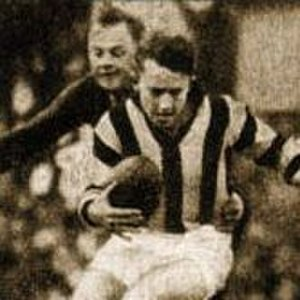 Australian rules football schism (1938–1949) - VFL superstars Laurie Nash, Bob Pratt, Ron Todd and Des Fothergill all crossed without clearances to play throw-pass football in the VFA.