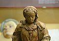 Detall de la figura d'una Mare de Déu asseguda, segles XVI-XVII, Museu Soler Blasco de Xàbiaa.JPG