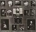 Deutscher Photograph - Daguerreotypientableau Nr. 1 mit Aufnahmen aus den Jahren 1845-1857 (Zeno Fotografie).jpg