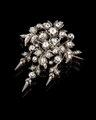 Diamantbrosch från juvelerarfirma Gustaf Möllenborg, 1865 - Hallwylska museet - 109582.tif