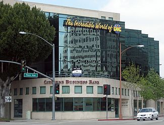 Former DIC headquarters in Burbank, California, United States