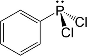 Dichlorophenylphosphine - Image: Dichlorophenylphosph ine 2D by AHRLS 2012