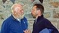 Dick Balharry (left) Mike Daniels (right) in Mar Lodge (02OCT13).jpg