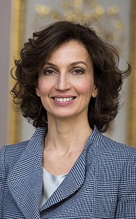 Audrey Azoulay French politician and official