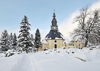Seiffen - Image: Die Bergkirche zu Seiffen im Erzgebirge