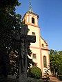 Die Bernharduskirche wurde 1207 erbaut und ist die älteste Pfarrkirche in Rastatt - panoramio.jpg