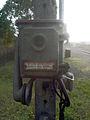 Diensttelefon an der Bahnstation Hombourg-Budange, Lothringen, Frankreich.jpg