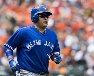 Dioner Navarro - Navarro playing for the Toronto Blue Jays in 2014