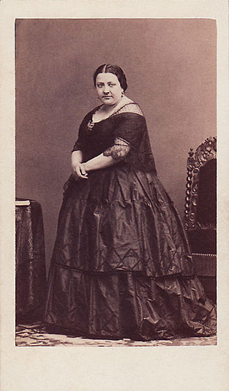 Marietta Alboni - Marietta Alboni carte de visite by André-Adolphe-Eugène Disdéri