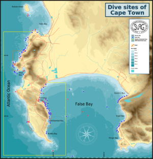 Recreational dive sites - Recreational dive sites of the greater Cape Town region.