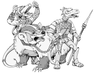 Kobold (<i>Dungeons & Dragons</i>) Fictional species in Dungeons & Dragons
