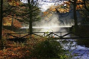 Boonton Township, New Jersey - Dolan's Falls early morning