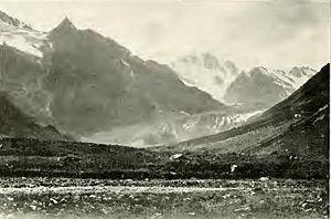 Dolra - Image: Dolra glacier, Georgia (Déchy, 1905)