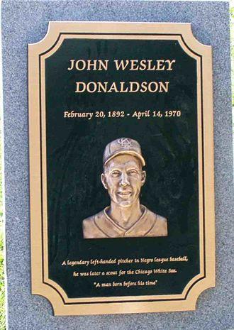 John Donaldson (pitcher) - John Wesley Donaldson's Grave Marker
