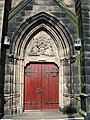 Doorway, Holy Trinity Church, Bickerstaffe - geograph.org.uk - 537900.jpg