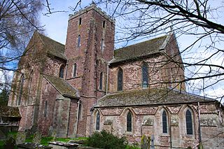 Dore Abbey Church in Herefordshire, England