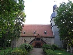 Church in Nöda, Thuringia, Germany