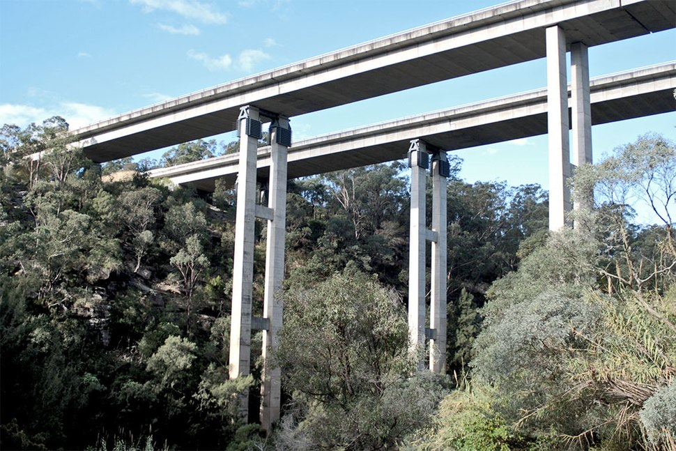 Douglas Park Bridge F5 Freeway
