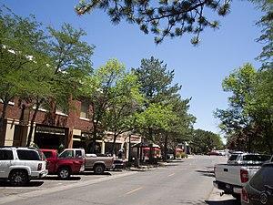 Twin Falls, Idaho - Downtown Twin Falls