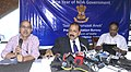 Dr. Jitendra Singh at a Press Conference.jpg