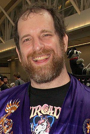 Furcadia - Furcadia developer Dr. Cat in 2009 at Anthrocon