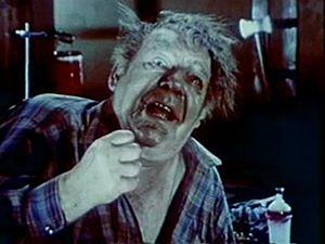 Lon Chaney Jr. - Chaney Jr. in Dracula vs. Frankenstein (1971)