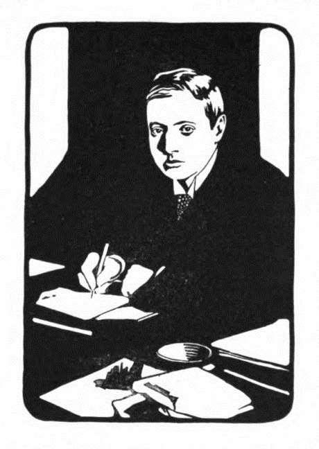 Drawing of W. W. Jacobs