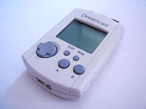 A Sega Dreamcast Visual Memory Unit