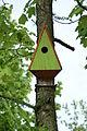 Dreieckiger Nistkasten für Vögel.JPG