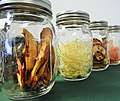 Dried apples and onions in mason jars.jpg