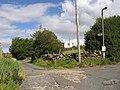 Driveway to Hey Wood, Linfit Lane, Linthwaite - geograph.org.uk - 528462.jpg