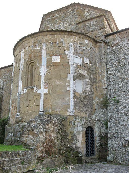 Duomo di Sovana abside