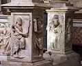 Duomo di genova, cappella di s. giovanni battista, baldacchino di g.g. della porta, guglielmo e nicolò corte, 1532-41, 04.JPG