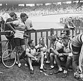 Dutch team at Parc des Princes, Tour de France 1952 (3).jpg