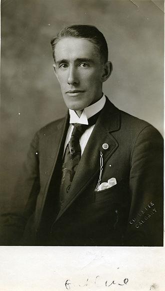 Edward Joseph Garland - Image: E. J. Garland U.F.A. Candidate Bow River 1926 (16867372831)
