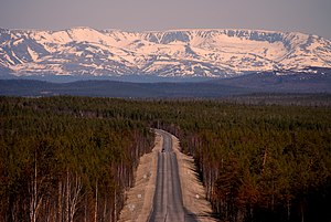 Kola Peninsula - Khibiny Mountains have an Arctic-moderate climate