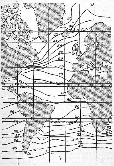 EB1911 Plankton - Atlantic surface isotherms.jpg
